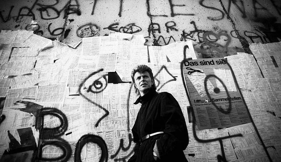 David Bowie Berlin Wall