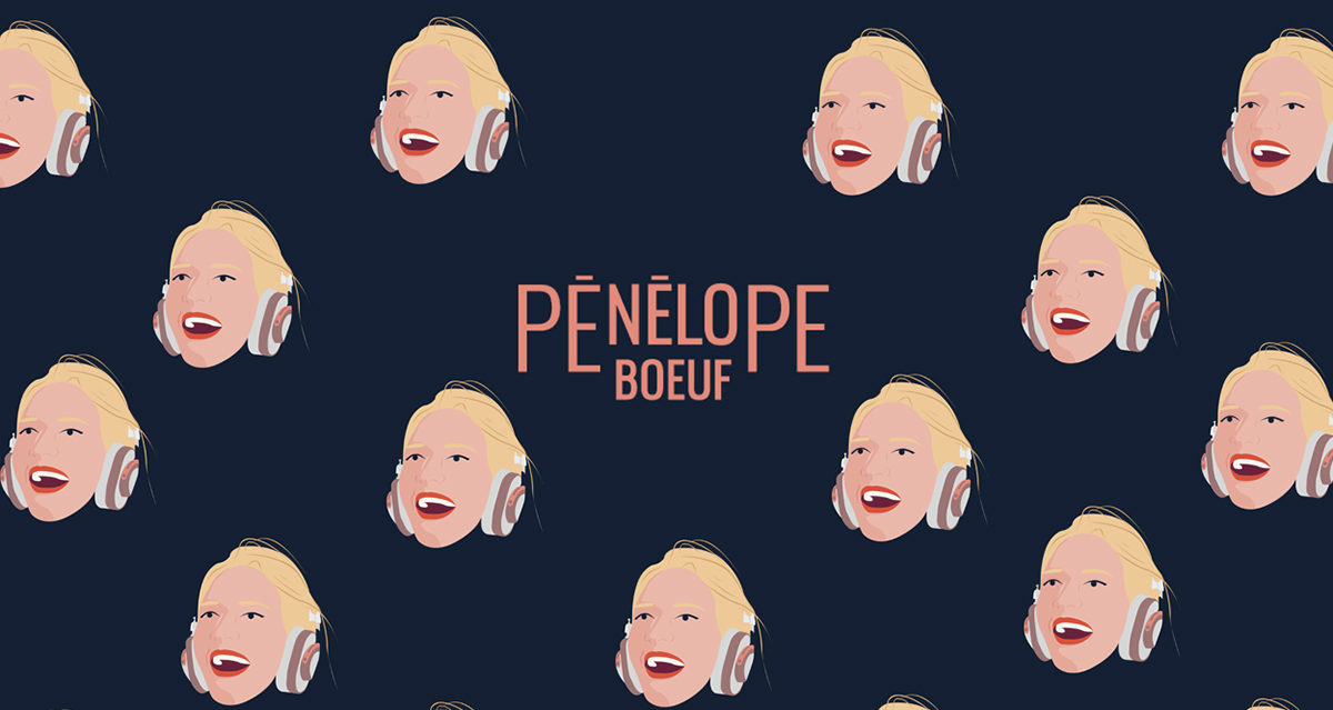 Pénélope Boeuf, raconteuse d'histoires et donneuse d'idées