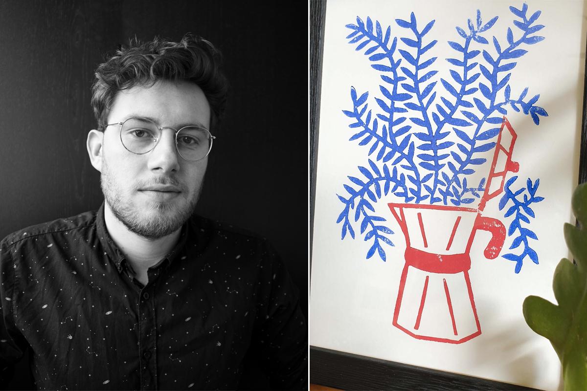 Dans la tête de… #36 : Egon Swaels, illustrateur et DA
