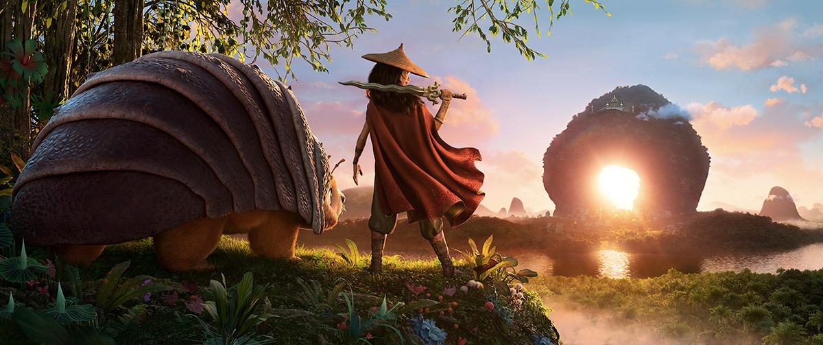 Raya et Le Dernier Dragon, un régal pour les yeux